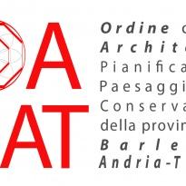 """Logo """"Ordine  Architetti della Provincia B.A.T."""""""